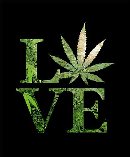 Blanket Queen - Leaf Ct - Signature Select Love Weed Leaf