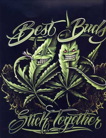 Blanket Queen Signature- Leaf Ct- Best Buds Leaf