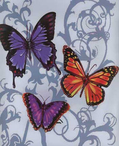Blanket Queen Signature SE Select- Butterflies