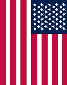 Blanket Queen TOR/LPB- Flag Ct- USA Flag 794