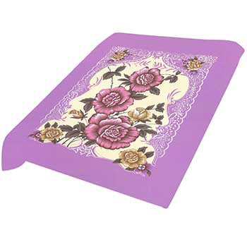 Blanket King  TOR - Floral Ct- Floral Purple G009