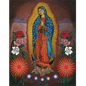 Blanket Queen - Hispanic Ct - Signature Select Ardras Art Guadalupe