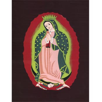 Blanket Queen TOR- Hispanic Ct- Virgin Mary 471
