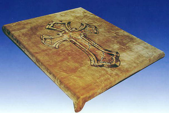 Blanket Queen - Religious Ct - Signature Select Cross