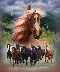 Blanket Queen  Signature Select JQ Patriotic Stomp Horse