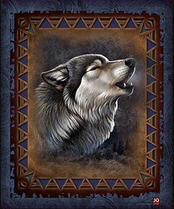 Blanket Queen Signature Select Wolf Ct Adirondack Wolf