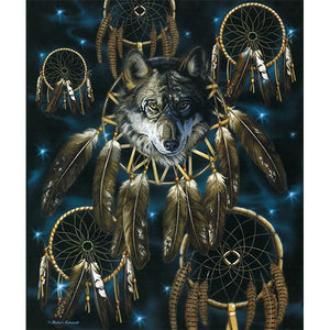 Blanket Queen Signature- Wolf Ct- JQ Wolf Dreamcatcher 2662