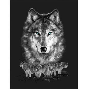 Blanket Queen TOR- Wolf Ct- Grey Wolf Pack G145