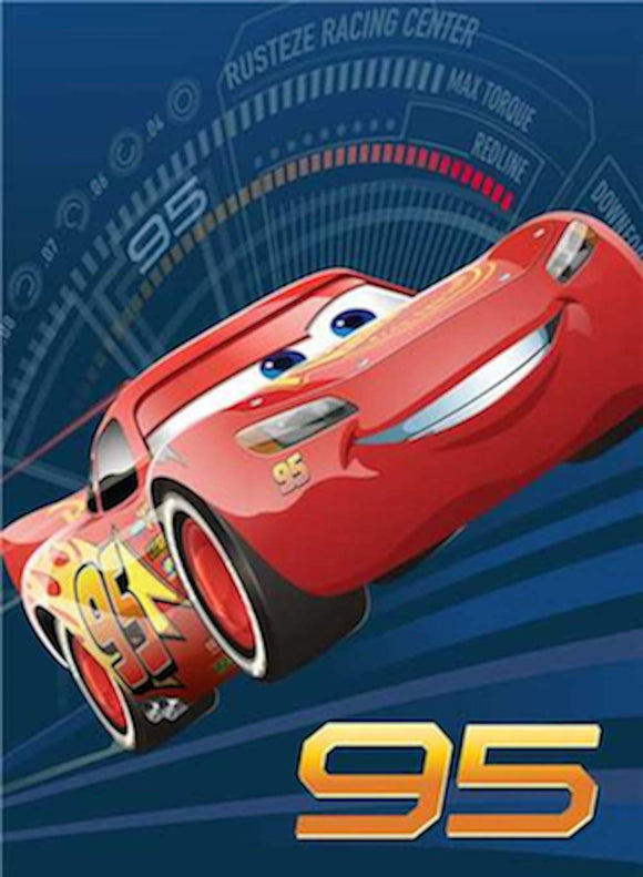 Blanket 60x80 Cartoon  Cars 3 Race to Win