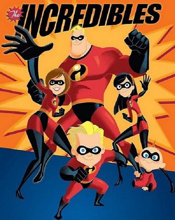 Blanket 60x80 Cartoon  Disney Incredibles 2