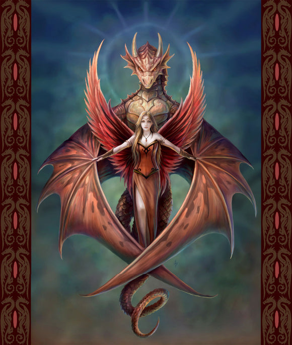 Blanket Queen Dragon Ct Signature Select Dragon Fairy Copperwing