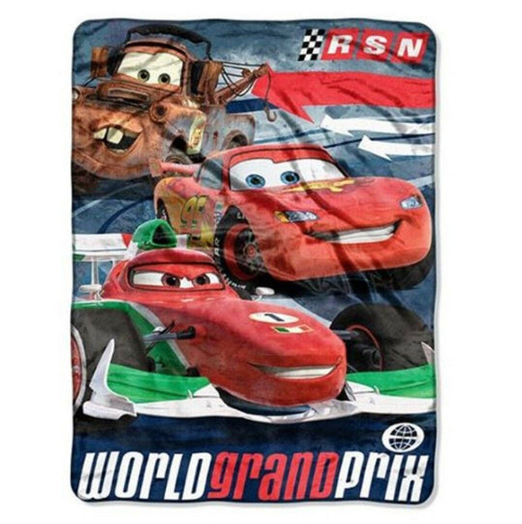 Blanket Baby Cartoon 40x50 Cars Fast Arrows