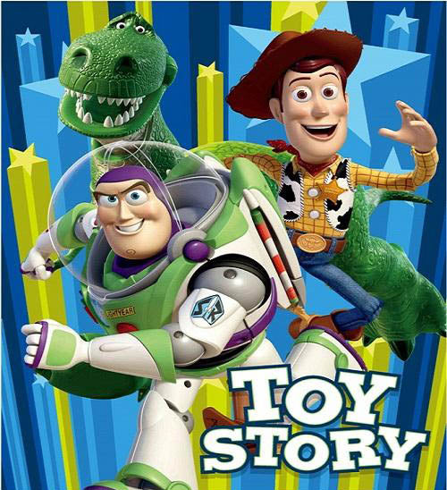 Blanket 60x80 Cartoon Toy Story