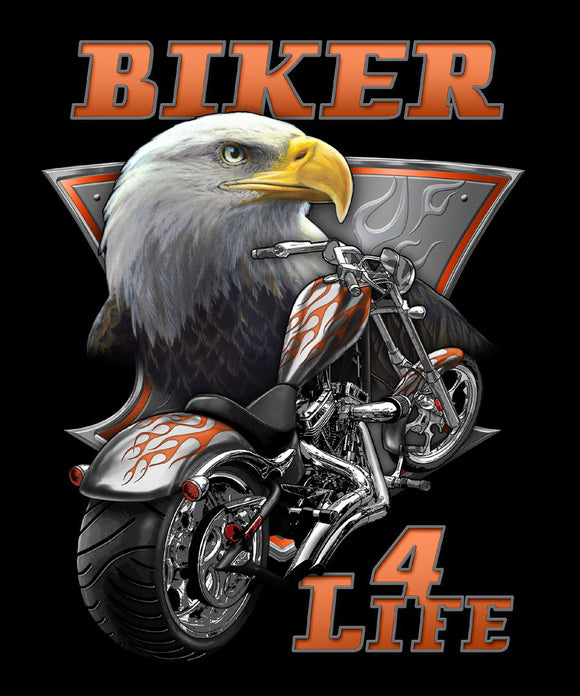 Blanket Queen - Car Ct - Eagle Motorcycle Signature Select JQ Biker 4 Life
