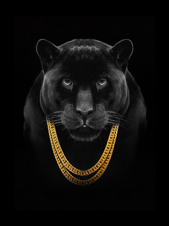 Blanket Queen Signature Select-  Panther Gold Chains
