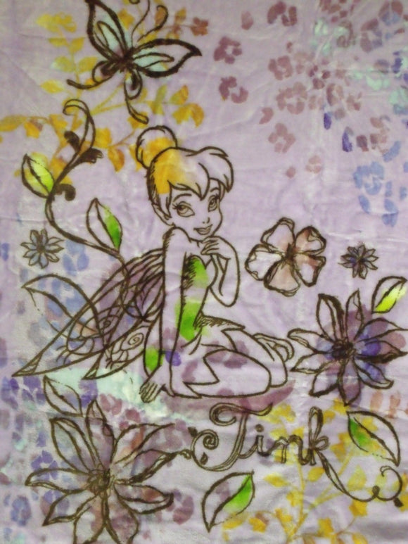 Blanket 60x80 Cartoon Tinkerbell Autumn Blossoms