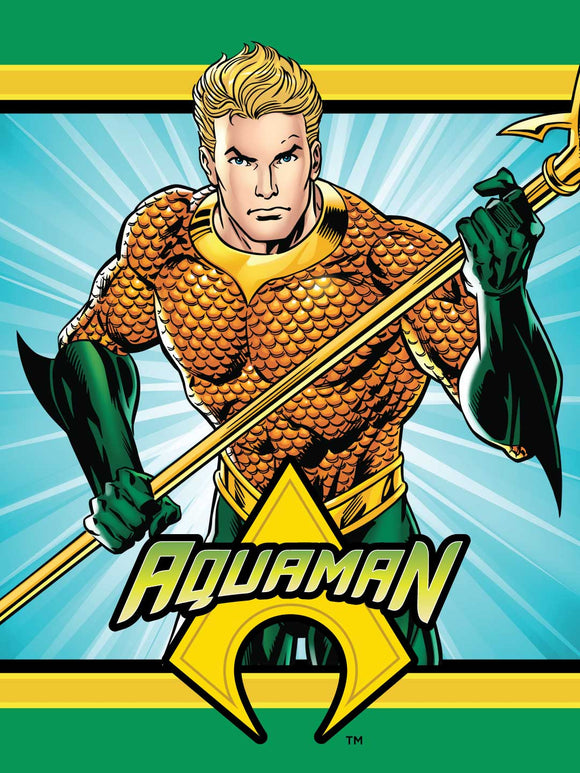 Blanket 60x80 Cartoon  Aquaman