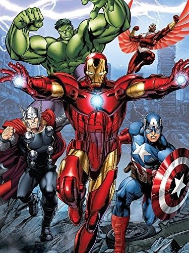 Blanket 60x80 Cartoon   Avengers