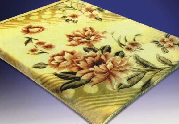 Blanket Queen Korean Floral Ct- Flower Roses 769