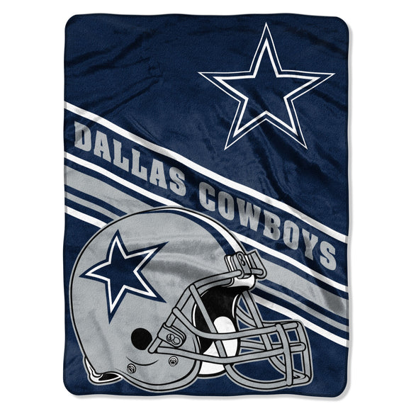 Blanket 60x80 NFL Dallas Cowboys Slant