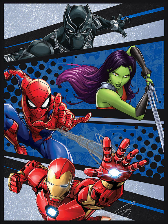 Blanket 60x80 Cartoon Marvel Universe Avengers Fight Club