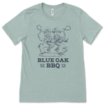 "Sea Foam Blue ""Blue oak Boys"" Shirt"