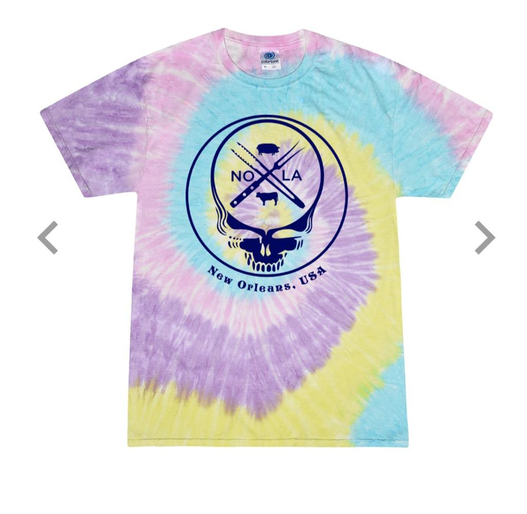 Purple Tie Dye Grateful Dead Shirt - SALE