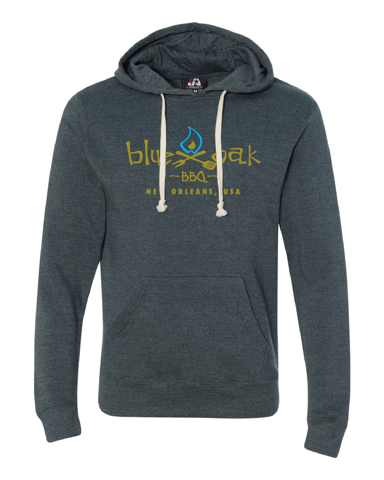 BLUE OAK BLUE AND GOLD HOODIE
