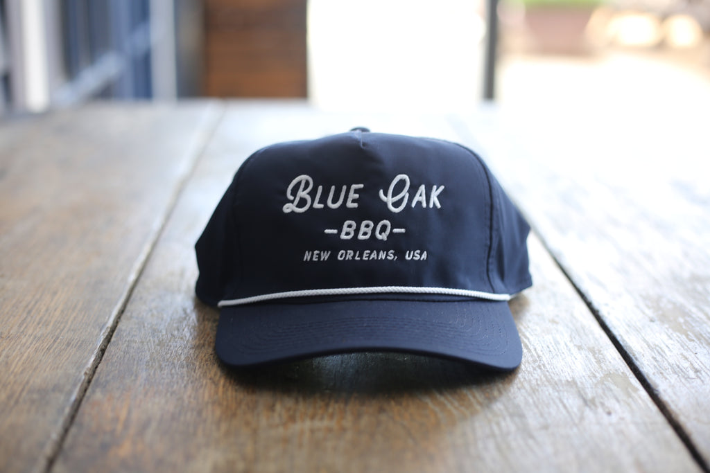 Blue Oak Imperial Navy Blue Rope Hat