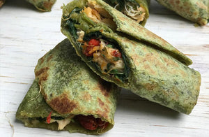 Wrap de pollo con Goji Berries