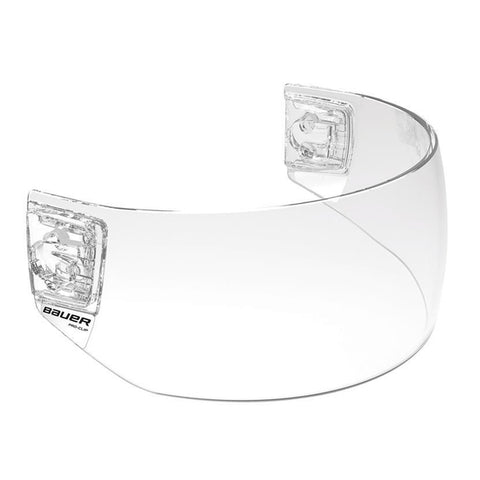 Bauer Pro-Clip Straight Visor - Clear