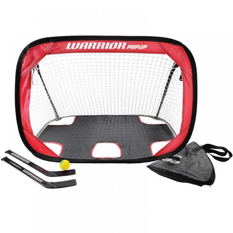 Warrior Pop Up Mini Hockey Net 2 Pack