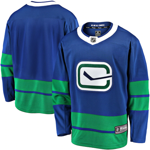 Fanatics Breakaway Vancouver Canucks Alternate Jersey - Men's