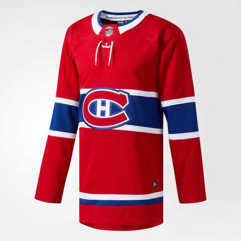 Adidas Authentic Montreal Canadiens Jersey Home - Men's