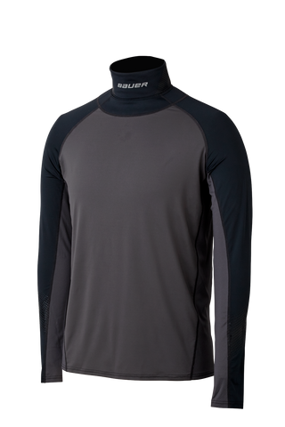 Bauer S19 LS Neck Protect Shirt - Youth