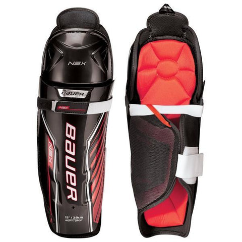 Bauer NSX Shin Guards - Youth
