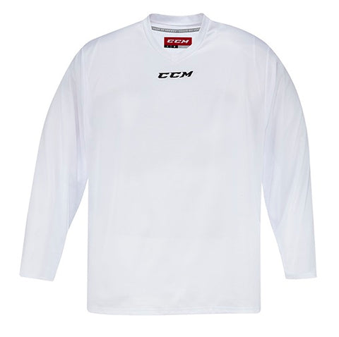 CCM 5000 White Practice Jersey - Junior