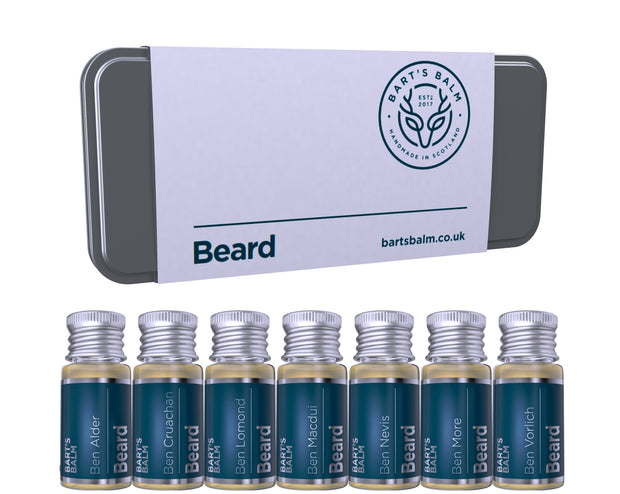Beard Oil Gift Set - 7 Fabulous Scents