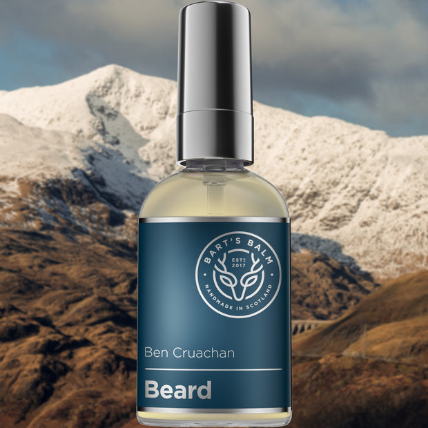 Bart's Premium Beard Oil - BEN CRUACHAN (Lime Essential Oil) 50ml