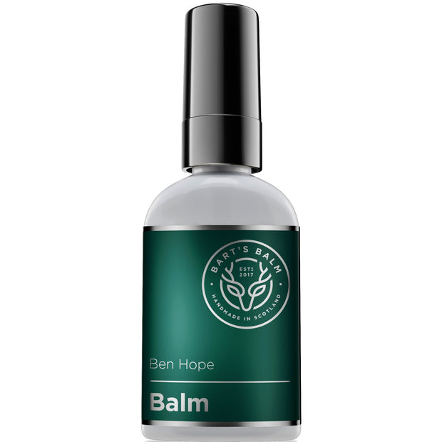 Bart's Premium Aftershave Balm - BEN HOPE (Peppermint Essential Oil) 50ml