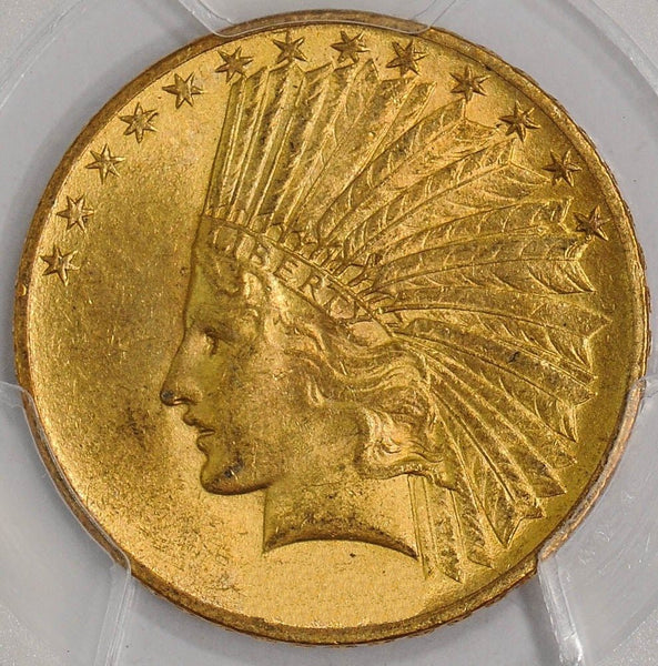 $10 Indian Gold Eagle PCGS MS62 (Year Varies)