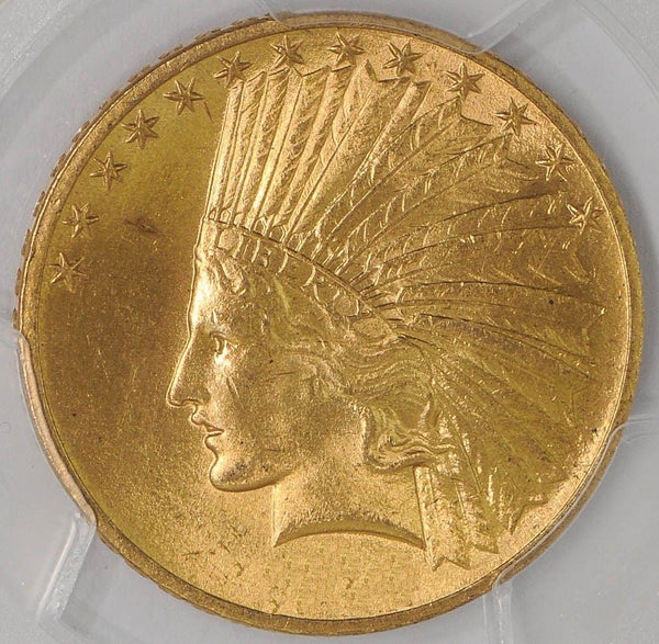 $10 Indian Gold Eagle PCGS MS63 (Year Varies)