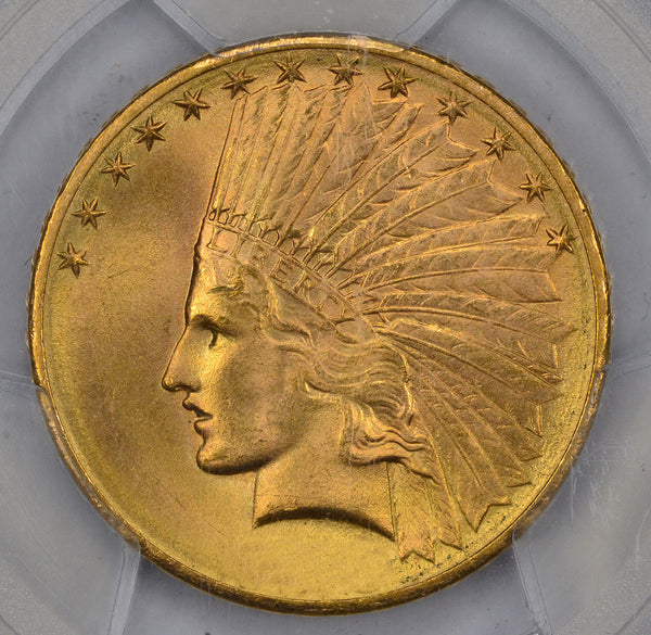 $10 Indian Gold Eagle PCGS MS65 (Year Varies)