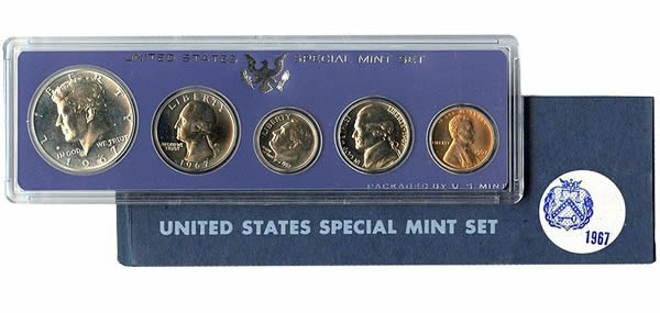 1967 United States Special Mint Set BU