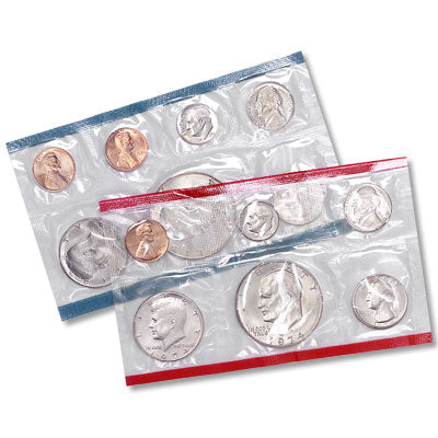 1974 U.S. Mint Uncirculated Coin Set