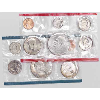 1976 U.S. Mint Uncirculated Coin Set