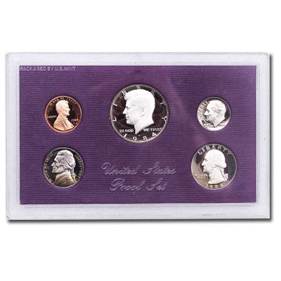 1984 United States Mint Proof Set