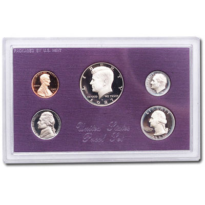 1987 U.S. Mint Proof Set