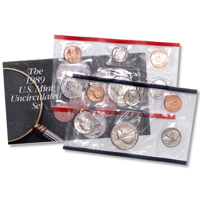 1989 United State. Mint Uncirculated Coin Set
