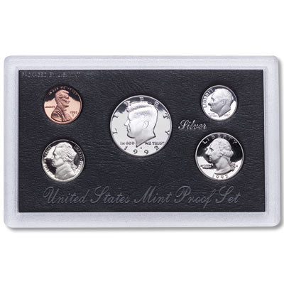 1992 U.S. Mint Silver Proof Set